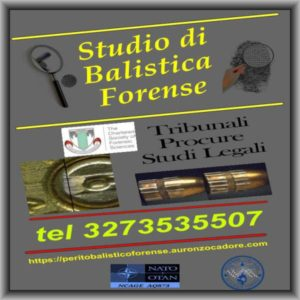 perizie balistiche perito balistico forense