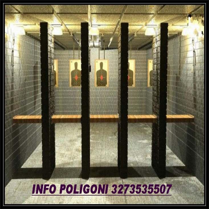 poligoni di tiro in galleria e a cielo aperto