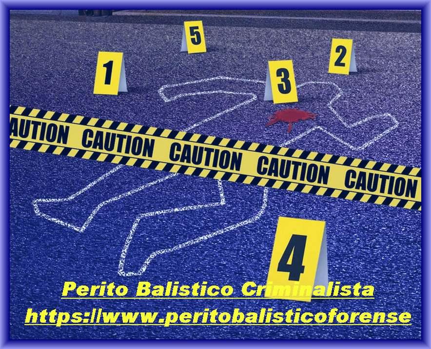 scena del crimine perizie balistiche